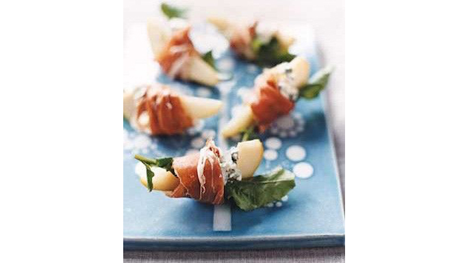 Pears with blue cheese