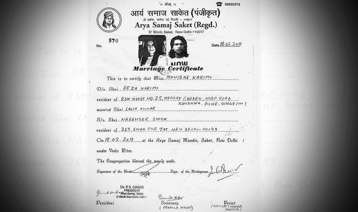 Bigg Boss  Mandana KarimiS Marriage Certificate Goes Viral