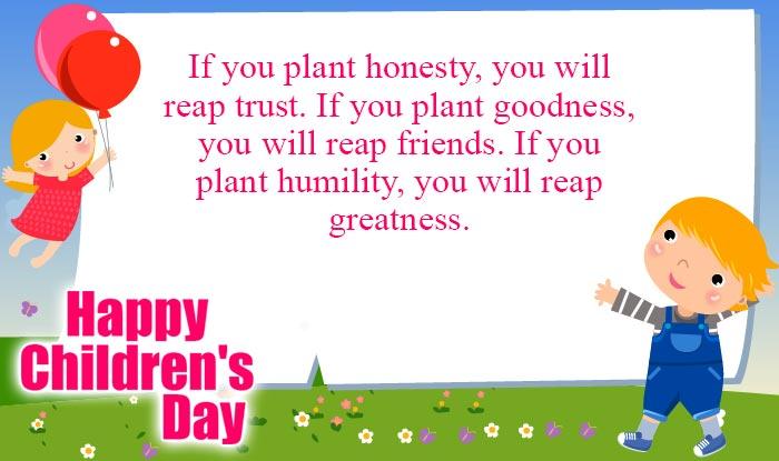 Happy Children's Day Quotes & Wishes: Best Bal Divas ...