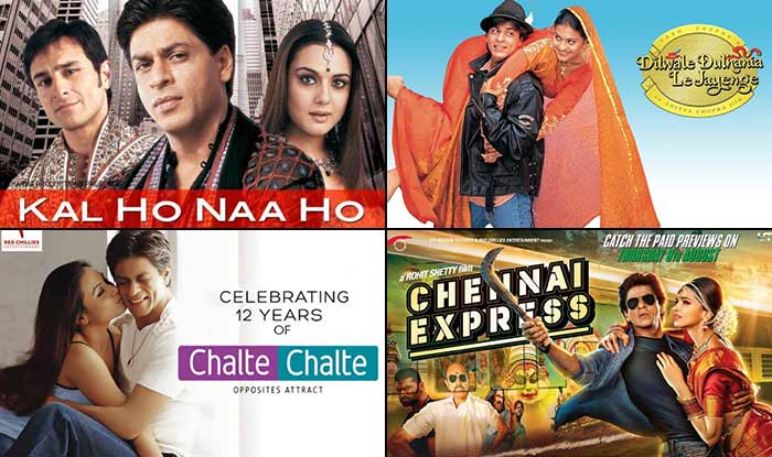 Shahrukh and kajol movies list