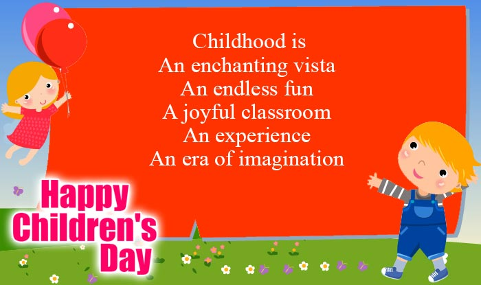 Happy Children's Day Quotes & Wishes: Best Bal Divas Wishes