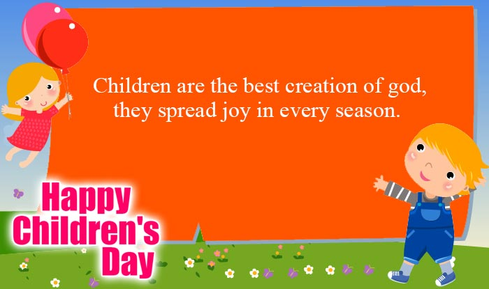 Happy Childrens Day Quotes Wishes Best Bal Divas Wishes – Words of Best Wishes