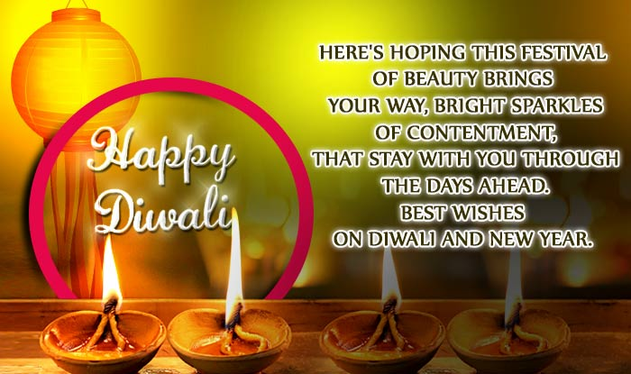 this festival of beauty brings your way bright sparkles of contentment that stay with you through the days ahead best wishes on diwali and new year