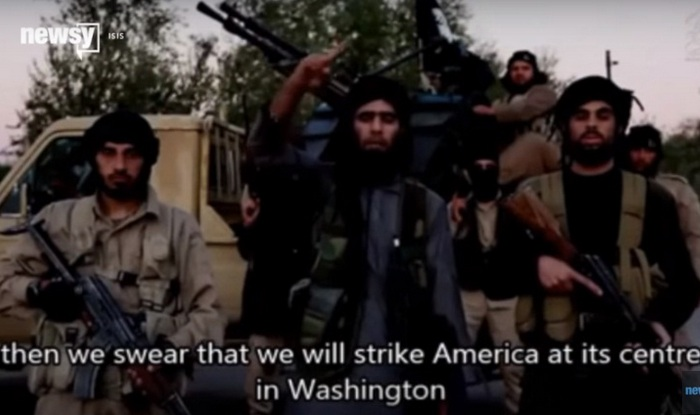 ISIS threatens Washington Photo credit Newsy