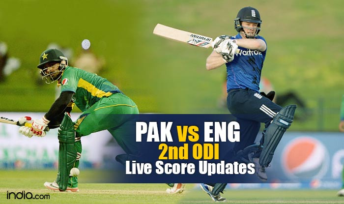Eng Won By 95 Runs Pakistan Vs England 2nd Odi 2015 Live Cricket Score Updates Pak 188 All Out In 45 5 Overs India Com