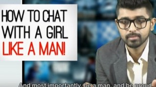 Dating tips: 27 ways on how to chat with a girl like a man! (Video)