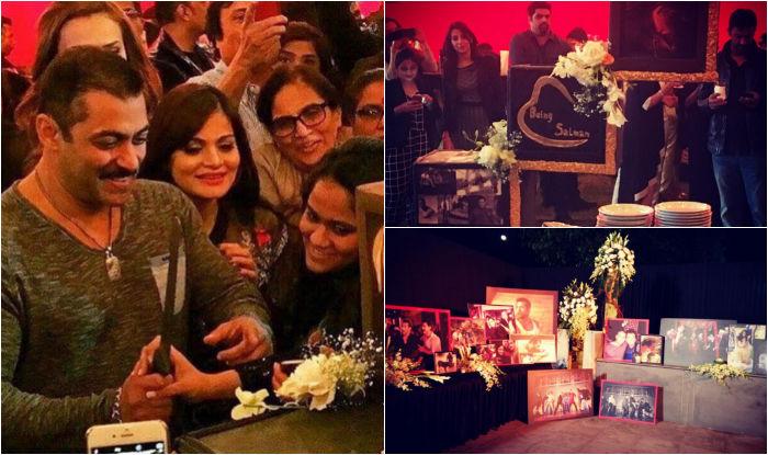 Salman Khans 50th Birthday Bash Snaps Shared By Sister Arpita Khan Sharma