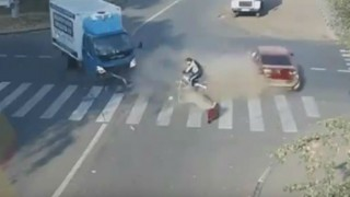 Man miraculously saved from horrendous car accident! (Video)