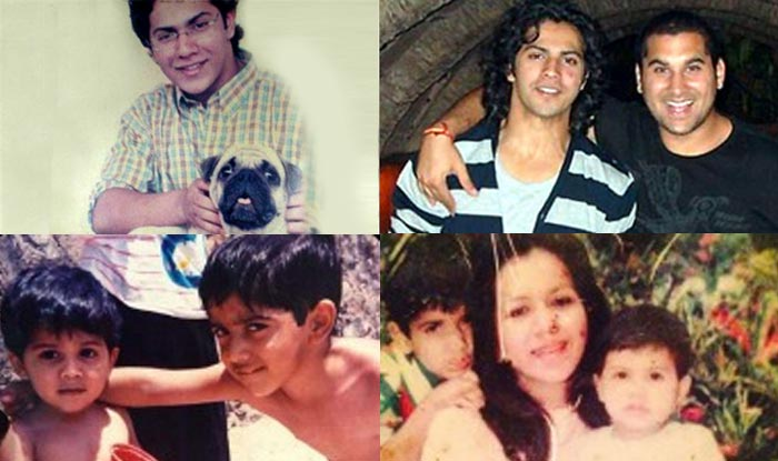 10 Aww Dorable Childhood Pictures Of Dilwale Varun Dhawan India Com