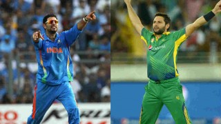 Yuvraj Singh has a message for Shahid Afridi & PSL team Peshawar