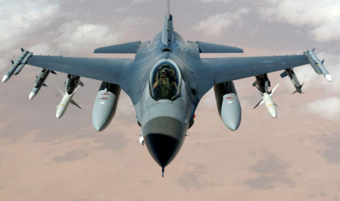 Developed by General Dynamics for the United States Air Force (USAF), the F 16 Fighting Falcon is a combat, multi role fighter aircraft with single engine.
