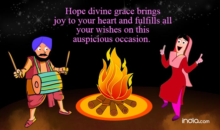 Happy lohri 2017 best lohri wishes whatsapp status facebook whatsapp reads hope divine grace brings joy to your heart and fulfills all your wishes on this auspicious occasion happy lohri stopboris Gallery
