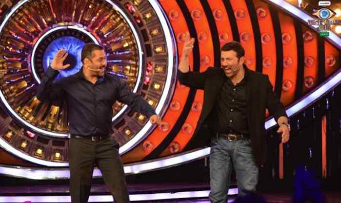 Bigg Boss 9 Salman Khan And Sunny Deol Better Than Shah Rukh Khan