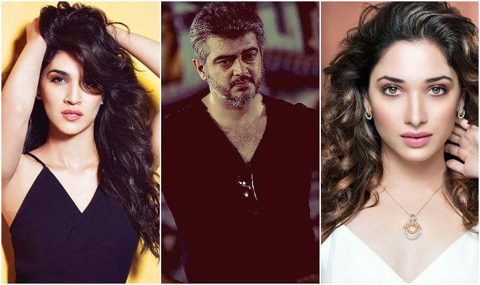 Kriti Sanon Tamannah Bhatia To Romance Ajith In Thala 57