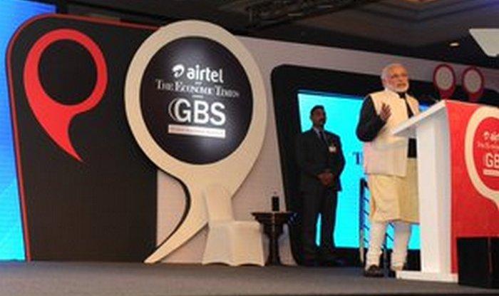 narendra modi at et event