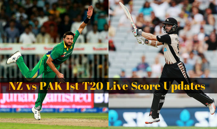 Pak Won By 16 Runs Live Cricket Score Updates Pakistan Vs New Zealand 1st T20 2016 Nz 155 10 In 20 Overs India Com