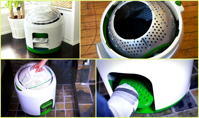 This Brilliant Washing Machine Works Without Electricity