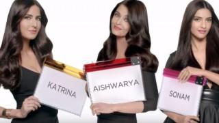 Katrina Kaif, Aishwarya Rai Bachchan and Sonam Kapoor will mesmerize you in the new L'Oreal ad