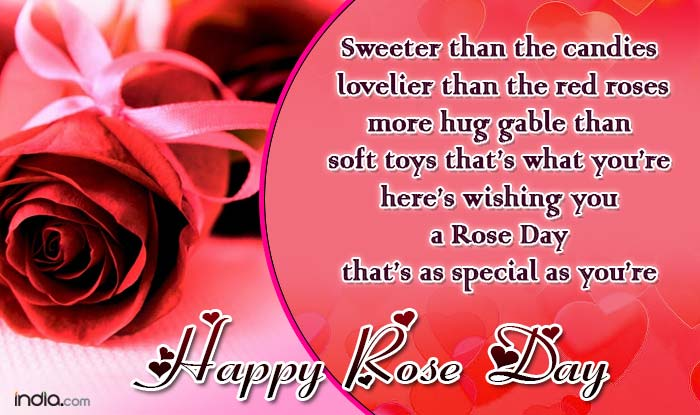 Happy rose day 2016 best rose day sms quotes whatsapp facebook let roses create their magic on your loved ones happy rose day to everyone out there m4hsunfo