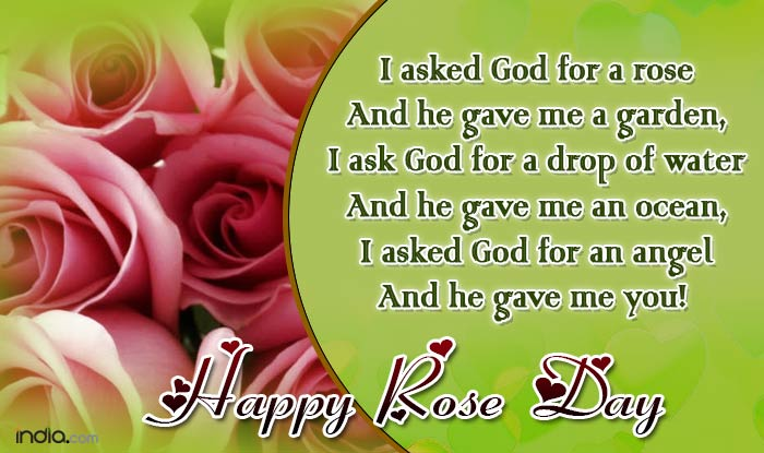Whatsapp Reads I Asked God For A Rose And He Gave Me Garden Ask Drop Of Water An Ocean