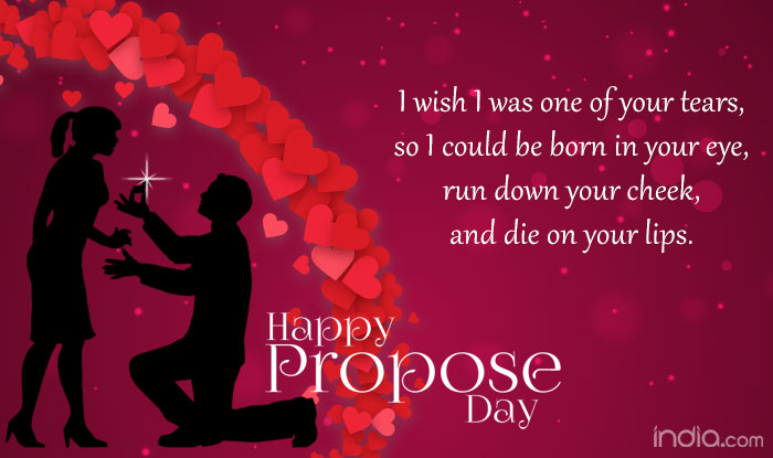 Propose Day 40 Wishes Best Quotes SMS Facebook Status Amazing Valentines Day Quotes For Loved Ones