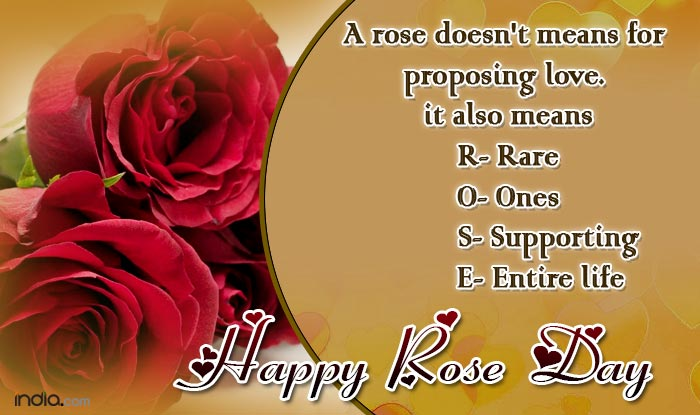 Happy Rose Day 40 Best Rose Day SMS Quotes WhatsApp Facebook Magnificent Happy Valentines Day Quotes For A Friend
