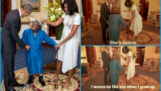 106-year-old woman dances with Barack Obama & Michelle Obama celebrating Black History Month at White House (Watch video)
