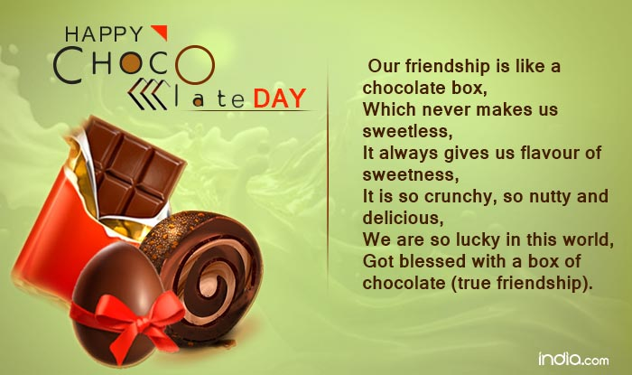 Chocolate Day 2017 Wishes: Happy Chocolate Day Quotes, SMS