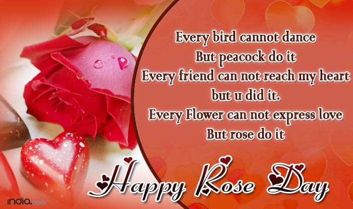Happy Rose Day 2017 Best Rose Day SMS Quotes WhatsApp – Send Best Valentines Card