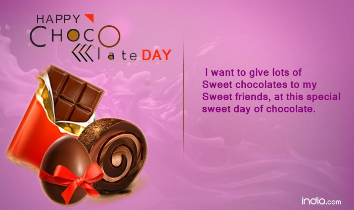 Chocolate Day 2017 Wishes: Happy Chocolate Day Quotes, SMS ...