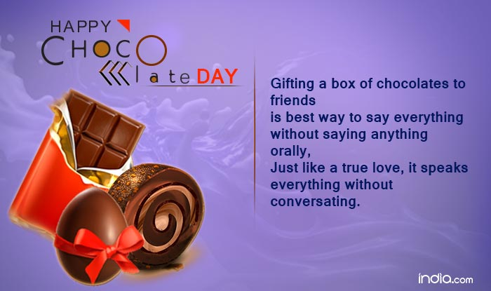 Chocolate Day 2017 Wishes: Happy Chocolate Day Quotes, SMS, Facebook