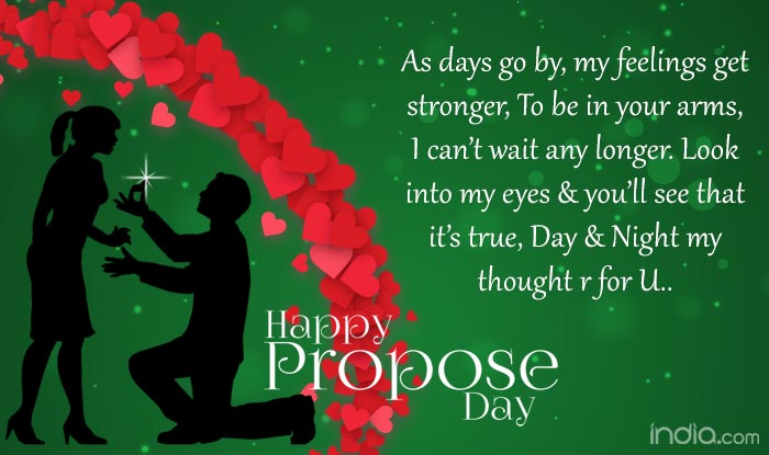 Propose Day 40 Wishes Best Quotes SMS Facebook Status Delectable Quotes For Wishing New Year