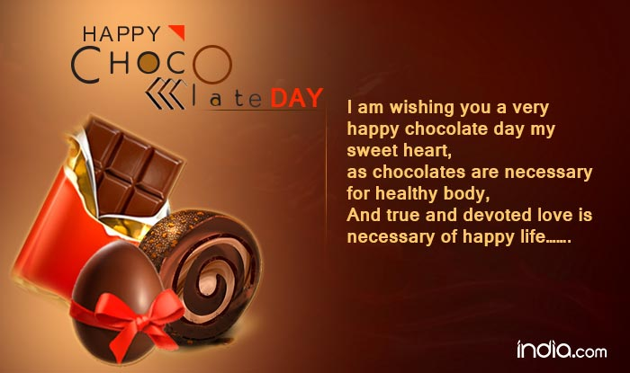 Online chocolate day date