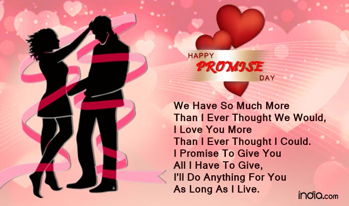 Happy promise day 2016 wishes best quotes sms facebook status 4 thecheapjerseys Gallery