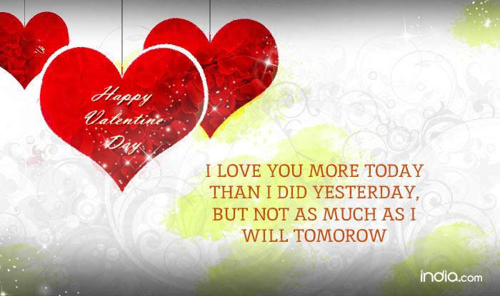Happy Valentine S Day 2016 Wishes Best Valentine S Day Sms Quotes