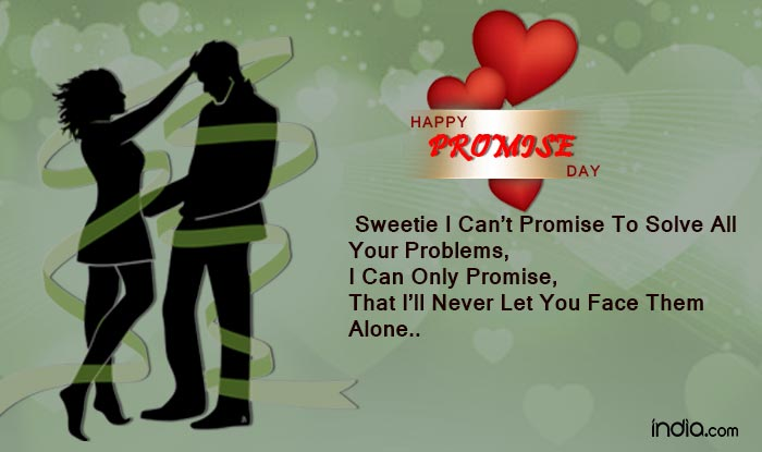 Happy Promise Day 60 Wishes Best Quotes SMS Facebook Status Delectable Ye Dayare Love Quotes For Bf Hindi