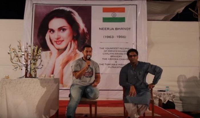 Aamir Khan at Neerja workshop 2