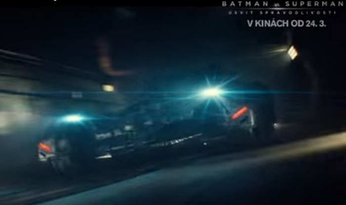 Batman V Superman: Dawn of Justice clip gives sneak peek of Batmobile! (Video)