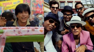 Shah Rukh Khan makes Bruno Mars his Jabra Fan! This Mashup video is must watch