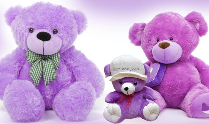 Happy teddy day 2017 importance of teddy day and teddy bear colours the purple colour is made up of blue and red colours both these colours show stability and energy whereas purple symbolises power nobility and luxury altavistaventures Image collections