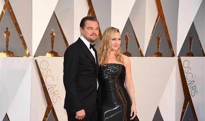 leo n kate at the oscars