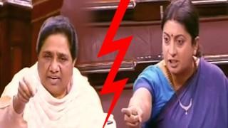 Angry Smriti Irani gives apt reply to Mayawati over Rohith Vemula's suicide (Watch video)