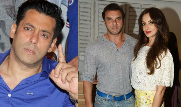 Trouble in Salman Khan's family; Sohail Khan and wife ...