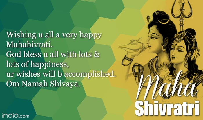 Maha shivaratri 2016 best shivaratri sms whatsapp facebook whatsapp reads happy shivaratri 2 all bhagwan bholenath i pray 2 u 4 all da people in dis world plz give every1 happiness peace lots of smiles m4hsunfo