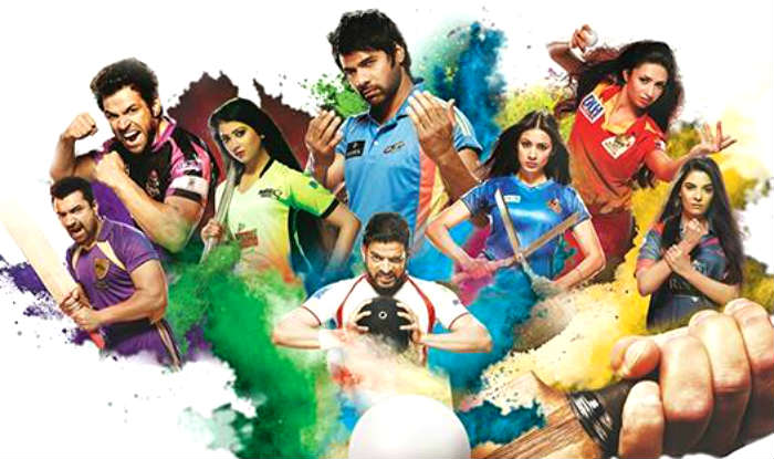 Celebrity cricket league teams name