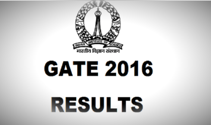 GATE 2016 Exam Results Declared On Gate.iisc.ernet.in