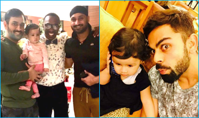 ms dhoni daughter ziva spends time with captain cool ahead of india