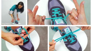 You will never tie your shoelaces the same way ever again after watching this video!