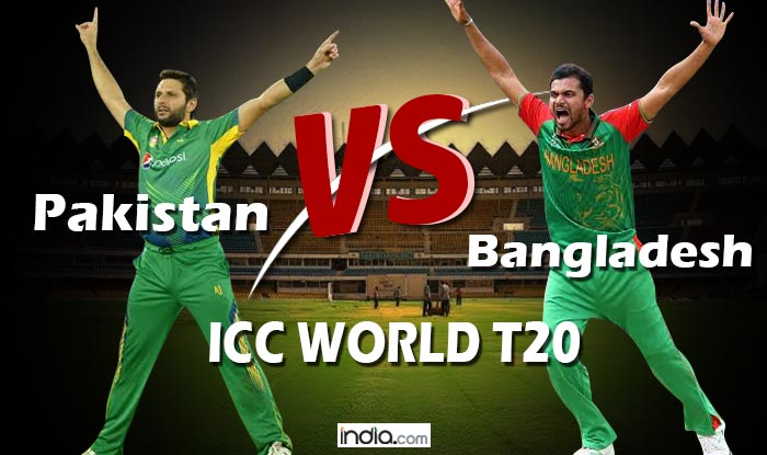 Pakistan Vs Bangladesh Icc T20 World Cup 2016 Match Preview Ban Favourites Against Under Fire