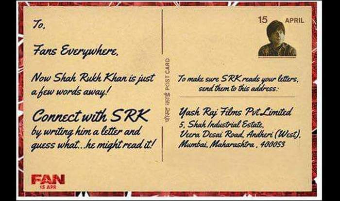 Shah Rukh Khan Invites Fans To Write Letter To Him Here S